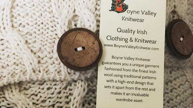 Boyne Valley Knitwear WoolCushion Cover