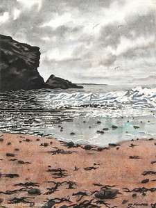 Silver mirror sea (Tinted graphite)
