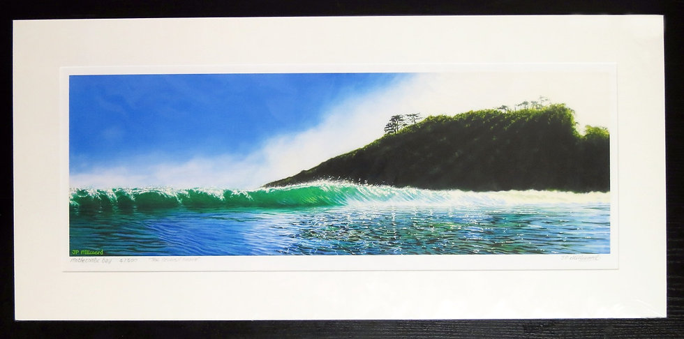 The second wave ( Ltd edition prints 8/500)