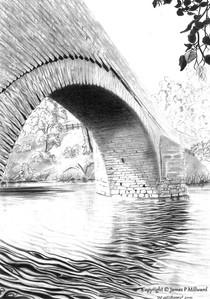 Millthrop bridge (Pencil)