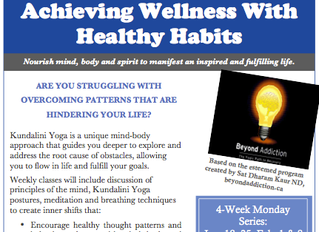 Achieving Wellness With Healthy Habits