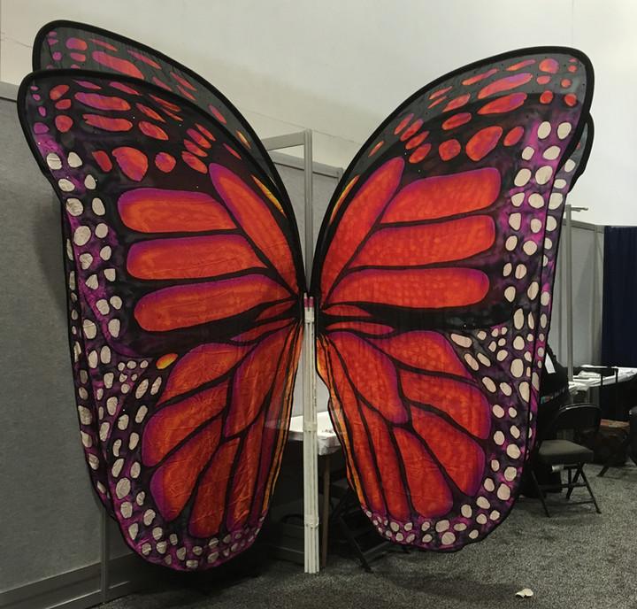 Custom Aerial Butterfly Wings