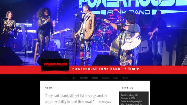 Powerhousefunkband.com