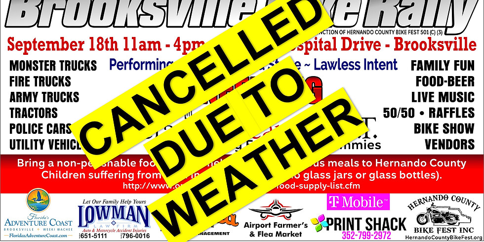 CANCELLED DUE TO WEATHER Touch-A-Truck Event Supporting Operation Heart F.E.L.T.
