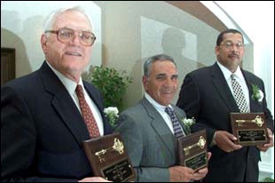 Black, Luckett, Rizzotti and Sticka  receive 2002 Gold Keys from CSWA
