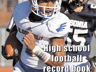 Newest state football record book has been released by CSWA