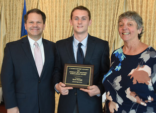 RHAM's Ryan Fraleigh awarded Bo Kolinsky Scholarship