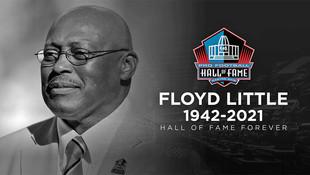 Gold Key winner Floyd Little has passed away