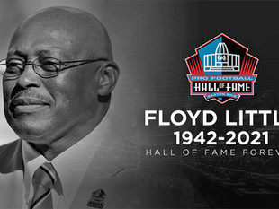 Gold Key winner Floyd Little has passed away