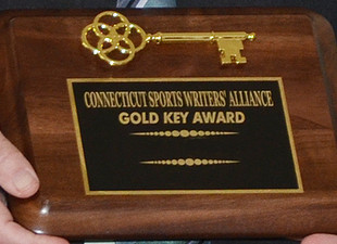 Connecticut Sports Writers' Alliance selects five to receive Gold Keys