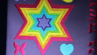 Teeny Bopper Jewish Star