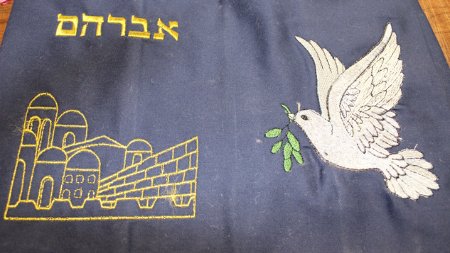 Western Wall and Dove