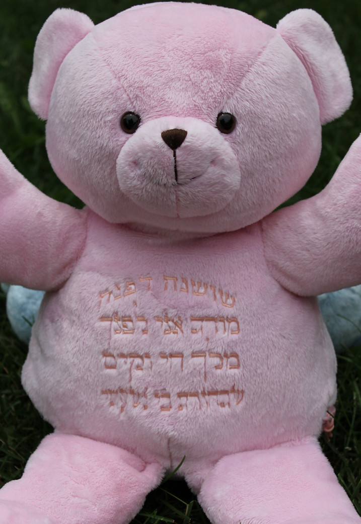 Hebrew Prayer Bear