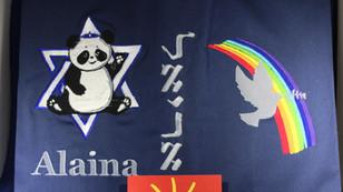 Panda Bear and Doves of Peace