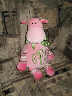 Girl Cow Cubbie