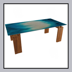 Gradient Airbrush Coffee Table