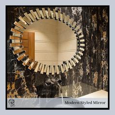 Oval Fancy Mirror