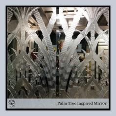 Palm Tree Inspired Mirror Doors