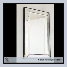 Simple Design Rectangular Mirror