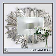 Mirror Strip border Rectangular Mirror