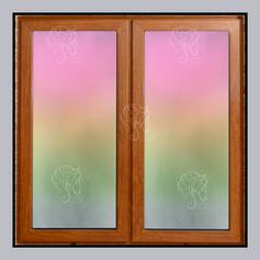 Gradient Airbrush Shutters