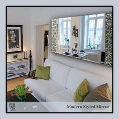 Modern Styled Rectangular Mirror