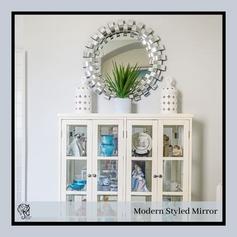 Round Fancy Mirror