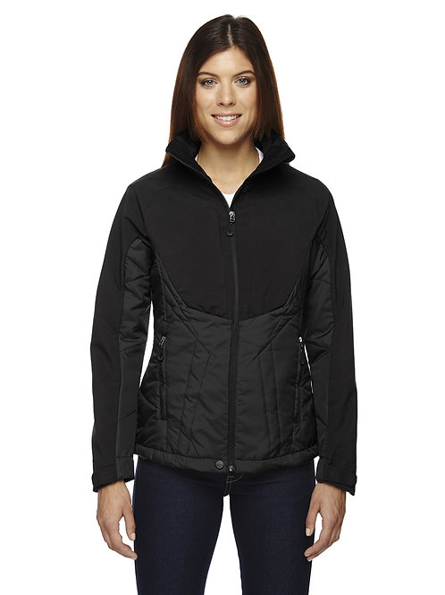 Ladies Innovate Insulated Hybrid Soft Shell Jacket- Ash City North End