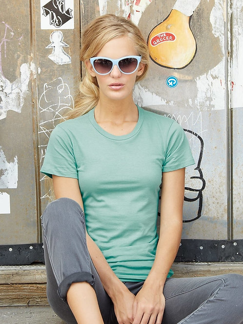 Ladies' The Alternative Short Sleeve T-Shirt made of 100% combed rin