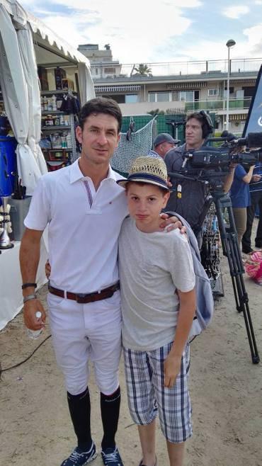 Ryan et le Champion Olympique 2012, Steve Guerdat