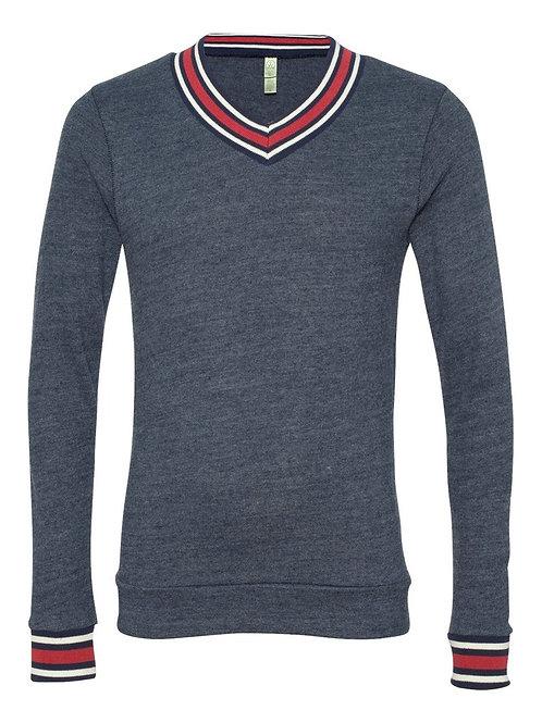 Mens Alternative Eco Cashmere V-Neck Sweathshirt