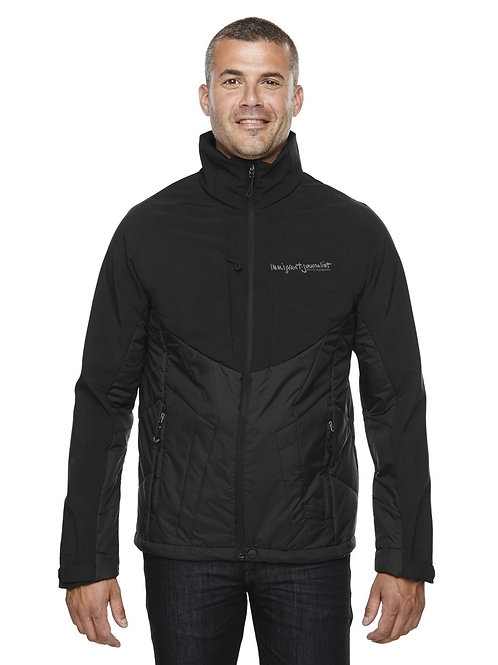 Men's Innovate Hybrid Insulated Soft Shell Jacket by Ash City North End