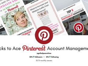 3 Tricks to Ace Pinterest Account Management