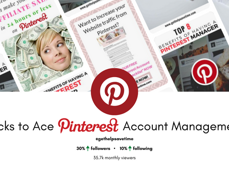 3 Tricks to Ace Pinterest Account Management