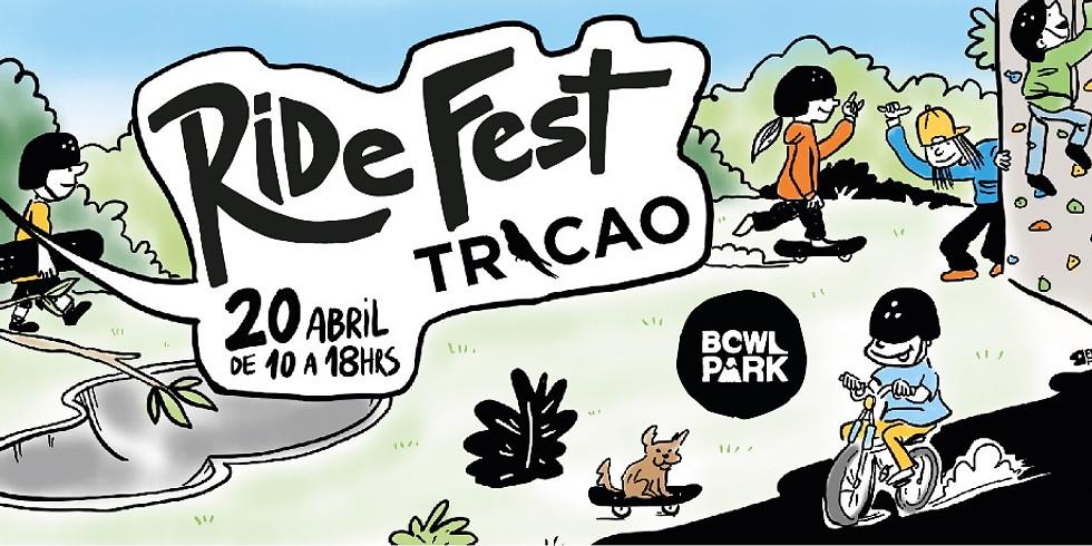 Ride Fest Tricao: Encuentro Skate, Bici, Escalada y Arte.