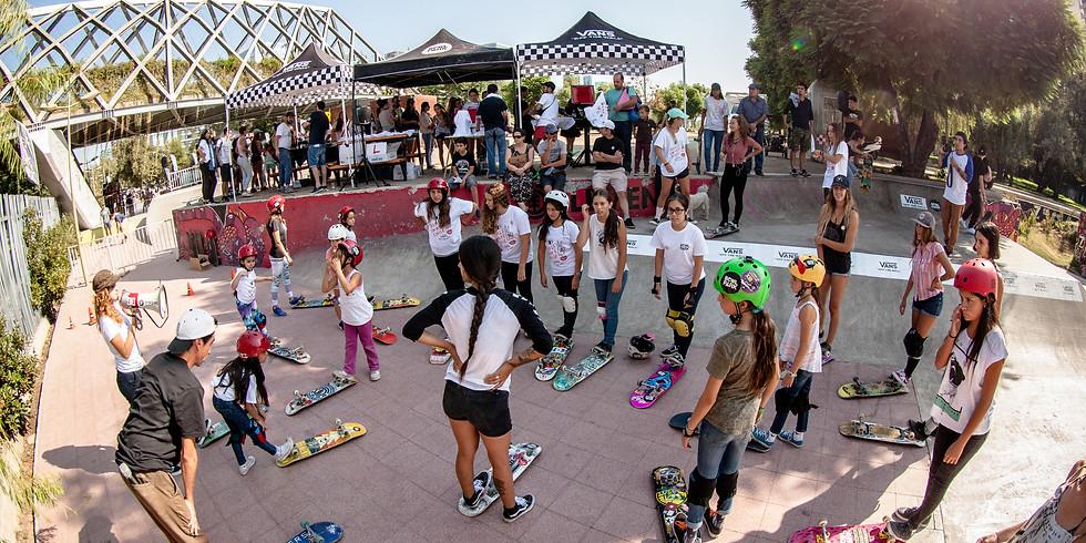 Girls on Board! Girls Skate Chile by VANS