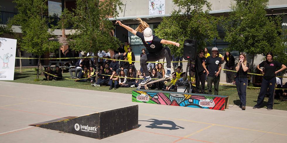 Interescolar de Skate