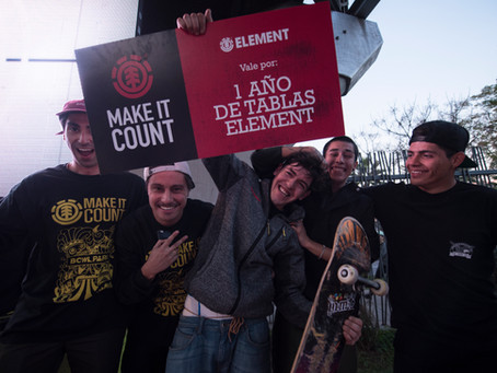 Ganadores Element Make it Count 2017