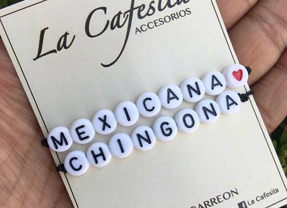 Pulsera - Mexican@ chingon@