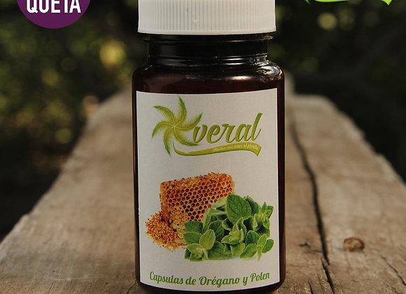Capsulas aceite de oregano y polen - Veral