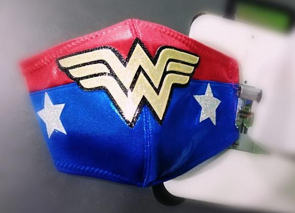 Cubrebocas Wonderwoman