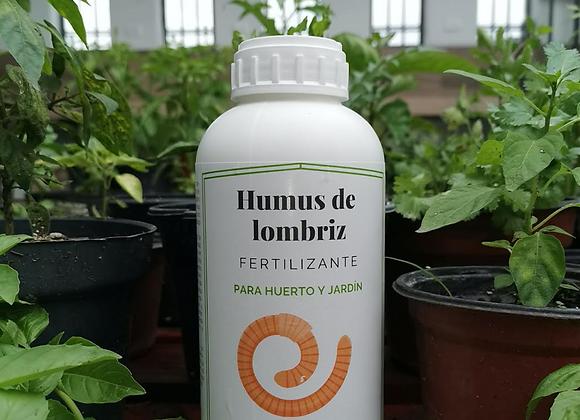 Humus de Lombriz - líquido