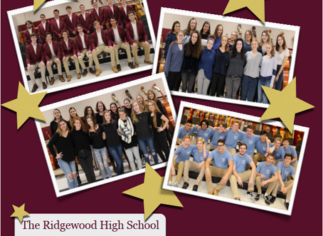 Concert: The Ridgewood High School Vocal Ensembles