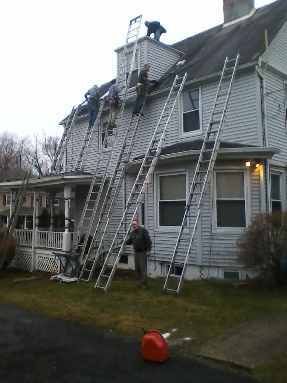 Manse got a new roof in December!