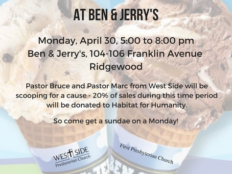 Ben & Jerry's SCOOP NIGHT