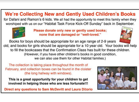 children's books for Habitat!