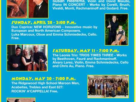 Upcoming Concert Series