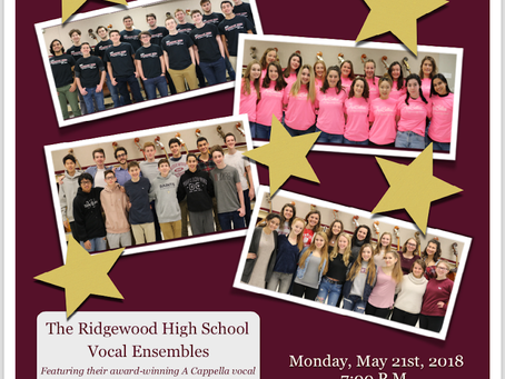 First Pres Concert Series RHS Vocal Ensembles
