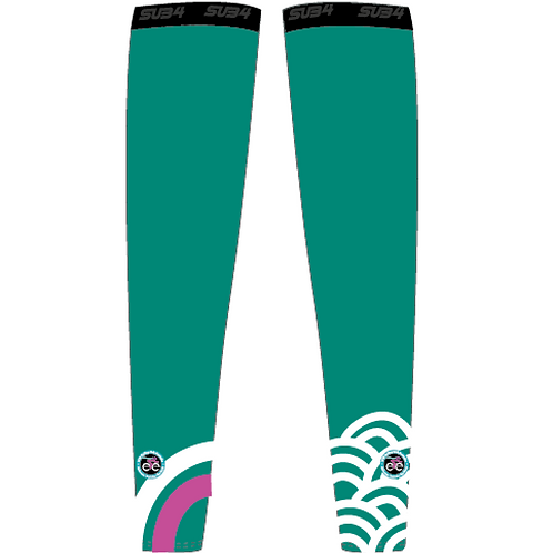 Emerald Arm Warmers