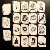 Ink Playing Card Deck